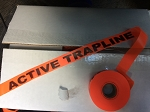 Active Trapline Flagging Tape